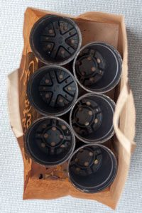 6 саксија 13 cm flowerbags