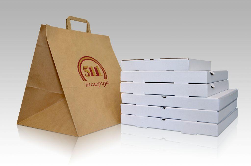 Pizza bags and boxes @ KESANOVA DOO