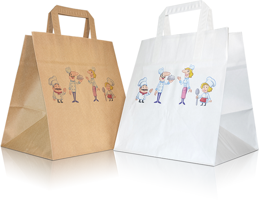 Paper carrier bags for e-commerce