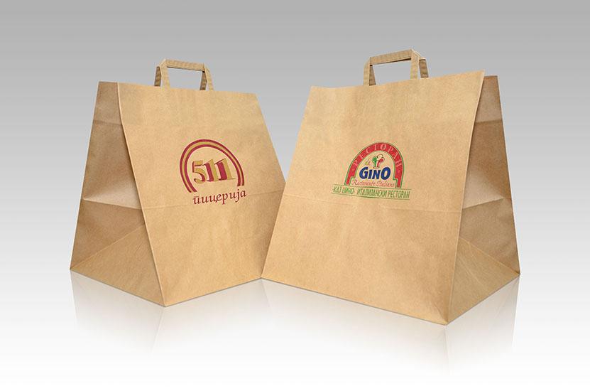 Pizza bags with handles @ KESANOVA DOO